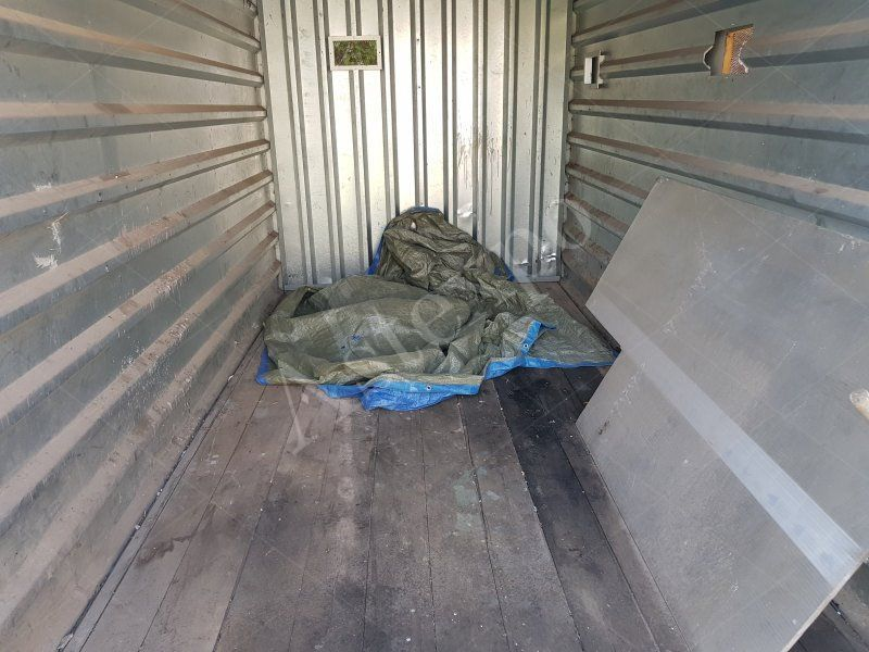 Vasca Da Bagno In Lamiera Zincata : Container in lamiera zincata con porte a due battenti 3 50 m aste