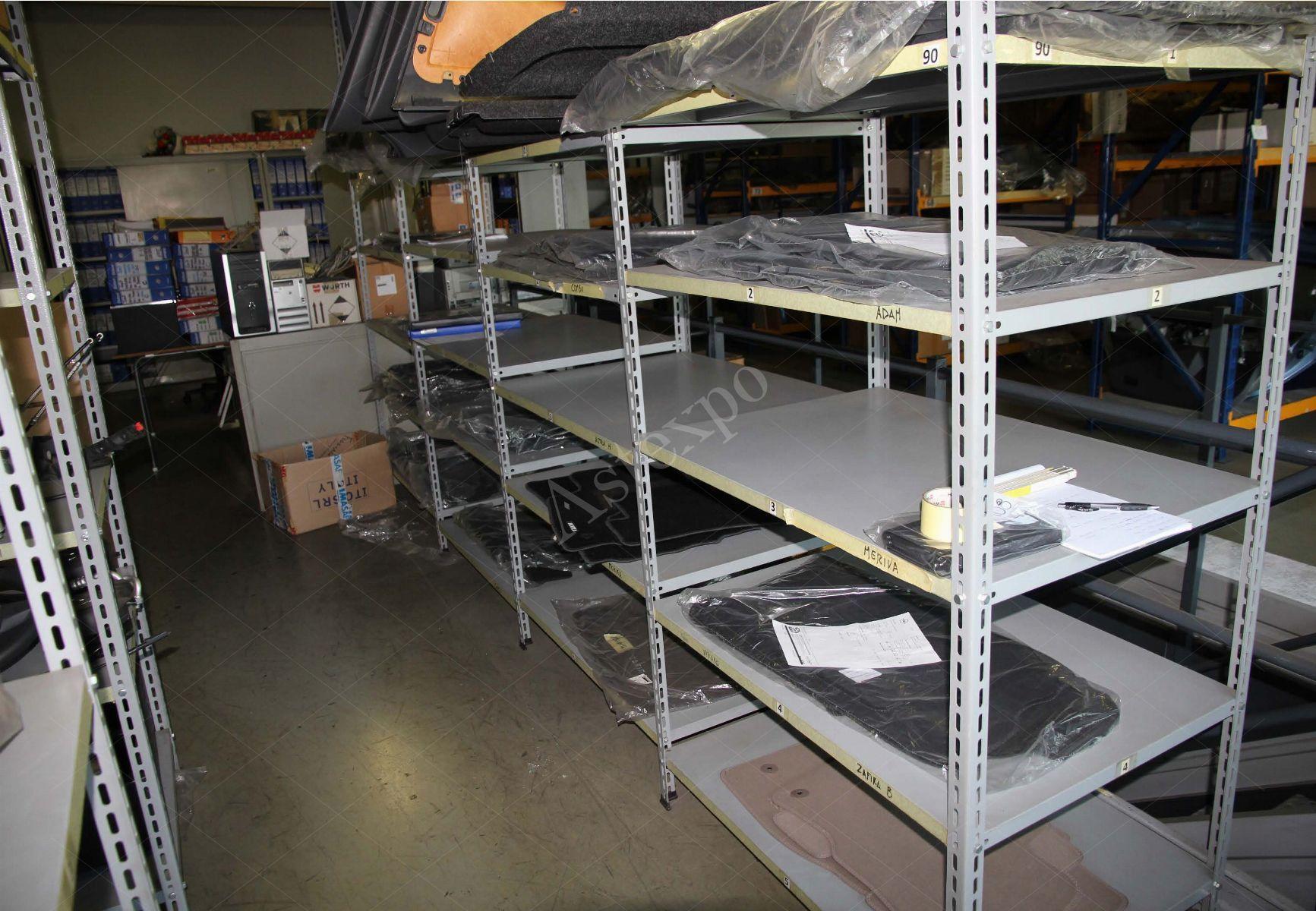 Scaffali in alluminio modulari h cm aste giudiziarie
